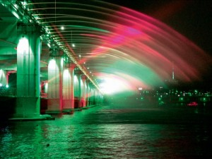 Banpo Bridge South Korea